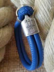ALSTERschmuck-HAMBURGarmband-leder-blau